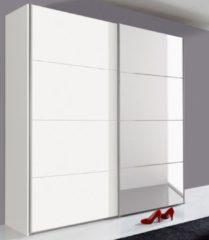 Wimex Schwebetürenschrank mit Selbsteinzug und Schubkasteneinsatz (3-tlg.)