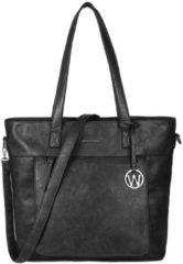 Wimona Evelina 4035 - Shopper / Laptoptas - 15 inch - Zwart