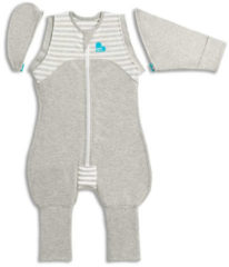 Love to Dream - Swaddle Up 50/50 Transition Suit Medium 1.0 TOG grijs