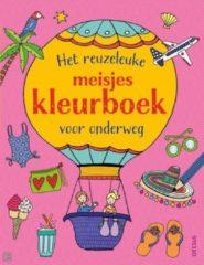 Centrale Uitgeverij Deltas Deltas Het Reuzeleuke Meisjeskleurboek Voor Onderweg