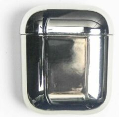 Landlit Mirror - AirPods Case - Metallic - Zilver - AirPods 1 en 2