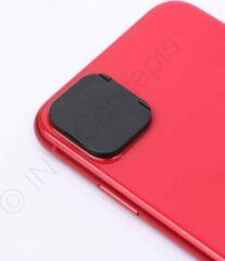 """*PREMIUM* IN-VI® Rear Camera Lens Protector Zwart voor iPhone 11 Pro (5.8"""") en 11 Pro Max (6.8'') // ✓ Camera Cover & Protecor in 1 ✓ Betrouwbaar 3M glue ✓ Anti Spy ✓ Ook geschikt voor op telefoonhoesjes"""