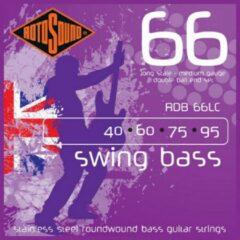 Rotosound RDB66LC set elektrische bassnaren .040-.095