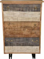 The Wood Times Schuhschrank «New Rustic», mit 3 Klappen