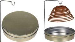 Zilveren Merkloos / Sans marque Wierookspiraal - Citronella - Set van 3 in blikje