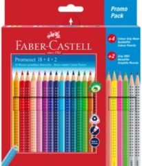 Kleurpotlood Faber-Castell Grip promotieset 18 + 4 + 2 FC-201540