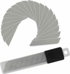 Relaxdays afbreekmes 18mm - reserve mesjes - reservemesjes - 7 breekpunten - 200 stuks