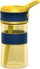 Boddels EEN Drinkfles voor kinderen & volwassenen - 400 ml - Geel/Blauw