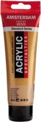 Goudkleurige Royal Talens Standard tube 120 ml Donkergoud halfdekkende acrylverf donker goud