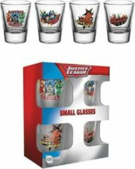 Zwarte GB eye Justice League Characters Shot Glasses Set