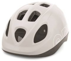 Witte Bobike ONE - Kinderhelm - Maat XS (46-52 cm) - Snow White