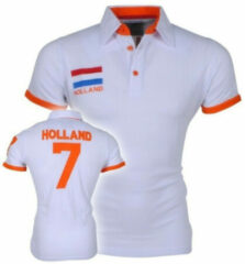 New Republic Heren Polo - Nederland - Wit