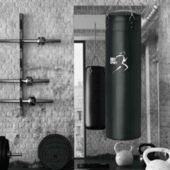 Zwarte Merkloos / Sans marque Bokszak 30kg met ketting
