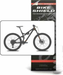 Transparante Bike Shield Bikeshield frambescherming Cable shield matte