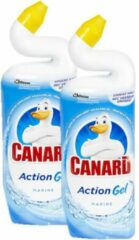 Canard Toiletreiniger Action Gel Marine 2 x 750 ml