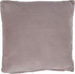 Nightlife Home Sierkussenhoes Fleece 45x45 - Lycra/elastaan - Roze