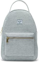 Grijze Herschel Supply Co. Supply Co. Nova Rugzak - Small - Light Grey Crosshatch