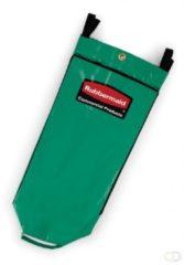 Recyclingzak met universeel symbool, Rubbermaid groen