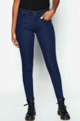 Tripper ROMESKINNY Dames Extreme super slim fit Jeans Blauw Maat W26 X L28
