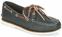Blauwe Bootschoenen Timberland CLASSIC 2 EYE