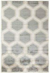 MOMO Rugs - Cosmou Decor Vloerkleed - 250x300 cm - Rechthoekig - Laagpolig Tapijt - Retro, Scandinavisch - Beige, Grijs