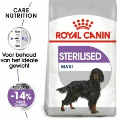 Royal Canin Care Nutrition Royal Canin Sterilised Maxi Hondenvoer - 9 kg