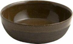 Zwarte D&M Deco OSKAR Yann bowl diameter 20cm - set of 2 - black / D20