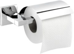 Tiger Items Toiletrolhouder met klep Chroom 17.1x5.2x13.2cm CO284120346