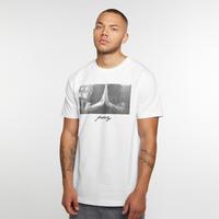 Urban Classics Heren Tshirt -XL- Pray Wit