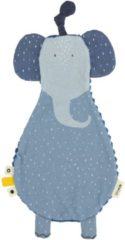 Blauwe Trixie - Fopspeenknuffel - Mrs. Elephant
