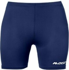 Donkerblauwe Masita Dames Tight - Shorts - blauw donker - 46