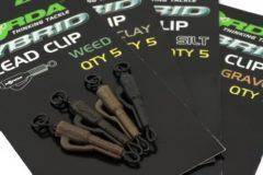 Beige Korda Hybrid Lead clip Clay Qty:5