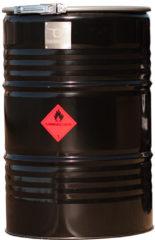 BarrelQ - Big industrieel houtskool Barbecue vuurkorf en statafel in één 200L olievat zwart