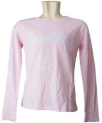 Roze T-shirt Korte Mouw Lotto 211695
