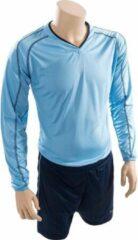 Precision Voetbalshirt- En Broek Marseille Junior Lichtblauw Mt 30-32