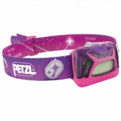 Roze Petzl - Tikkid - Hoofdlamp maat One Size pink
