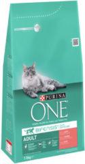 Purina One Adult Zalm&Granen - Kattenvoer - 1.5 kg - Kattenvoer