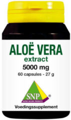SNP Aloe vera 5000 mg puur 60 Capsules