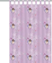 Paarse Texco Disney Violetta Gordijn - 140x250 cm - Per stuk