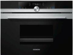Siemens CD634GAS0 inbouw stoomoven met FullSteam en 20 automatische programma's