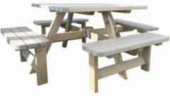 Westwood | Rugleuning ten behoeve van picknicktafel Deluxe vierkant | Set
