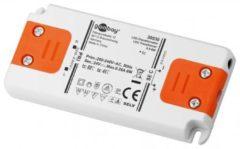 Goobay SET 24-06 LED slim LED-transformator Constante spanning 0 tot 6 W 0.25 A 24 V/DC Niet dimbaar, Geschikt voor meubels