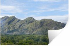 StickerSnake Muursticker Colombia - Andes-berg in Colombia - 30x20 cm - zelfklevend plakfolie - herpositioneerbare muur sticker