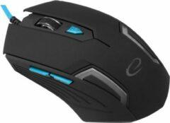Blauwe Esperanza EGM205B muis USB Type-A Optisch 2400 DPI Rechtshandig