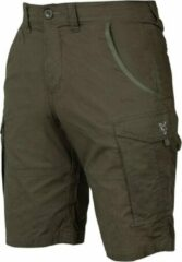 Groene Fox Collection Combat - Shorts - Green/Silver - Maat XXL