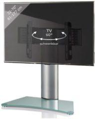 TV-Standfuß Tischfuß TV Fernseh Aufsatz Fuß Erhöhung schwenkbar drehbar 'Windoxa Maxi' VCM Mattglas
