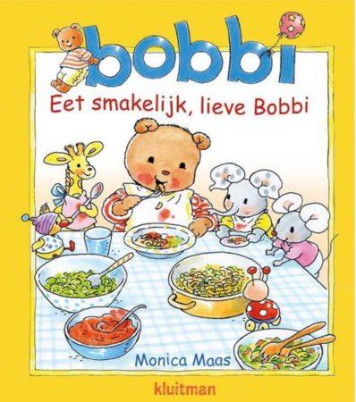 Afbeelding van Basic Kartonboek Bobbi Eet Smakelijk, Lieve Bobbi