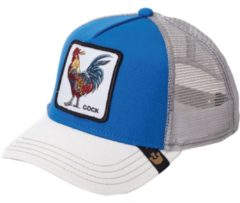 Blauwe Goorin Bros. Gallo Trucker cap - Royal Blue