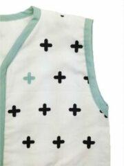 Witte Briljant Kids Crizzz Crozzz Hydrofiel Zomerslaapzak -70 cm / 0 - 6 maanden
