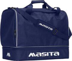 Donkerblauwe Masita Forza Sporttas - Tassen - blauw donker - L